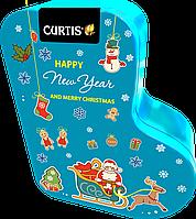Новогодний подарок чай Curtis в сапожке, 80г