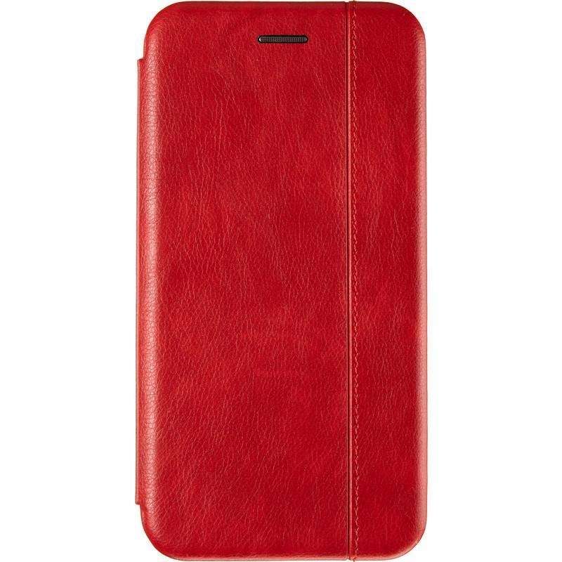 Чехол книжка Gelius Leather Book для Huawei Y5P Red