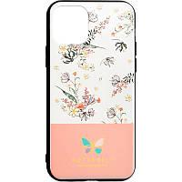 Чехол накладка Butterfly для Xiaomi Redmi Note 7 Pink