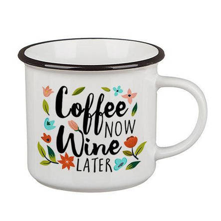 Кружка Camper, Coffee now, wine later (KRC_18J021), фото 2