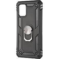 Чехол противоударный Honor Hard Defence для Samsung Galaxy A71 A715 Black