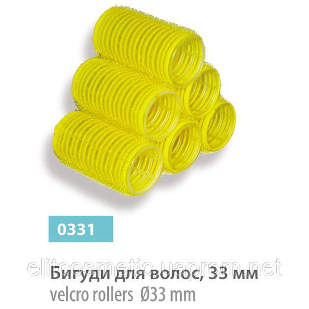 Бигуди – липучки SPL, 33 мм (8 шт.)