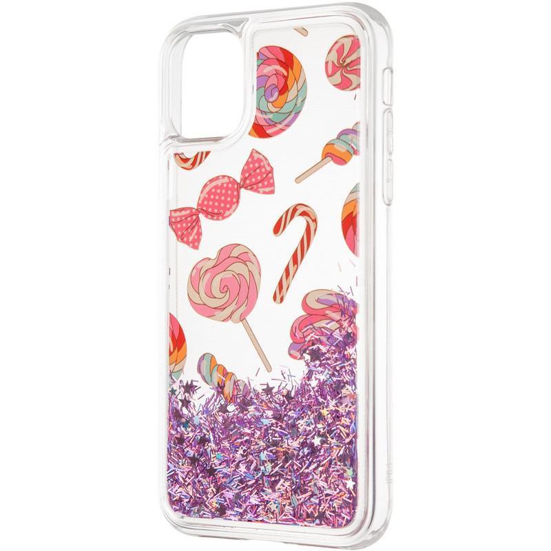 Чехол силиконовый Aqua для iPhone 11 Lollipop