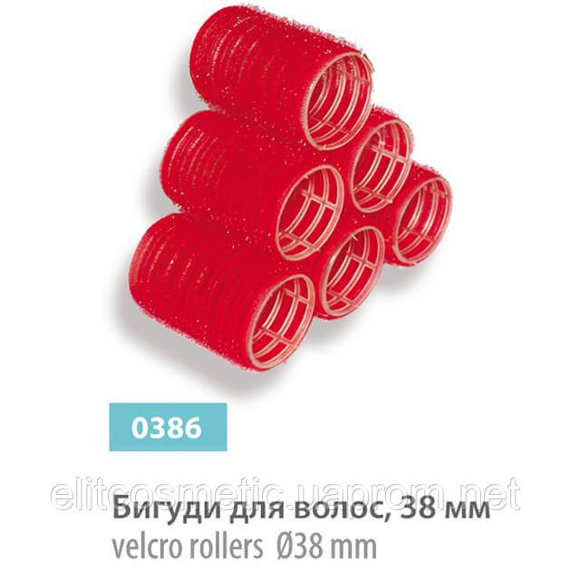 Бигуди – липучки SPL, 38 мм (6 шт.)
