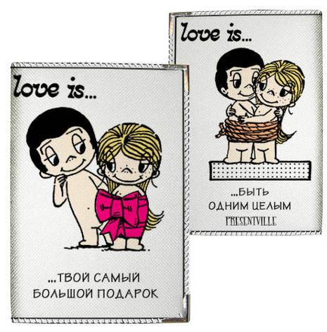 "Обложка для паспорт ""Love"", фото 2"