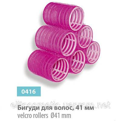 Бигуди – липучки SPL, 41 мм (6 шт.)
