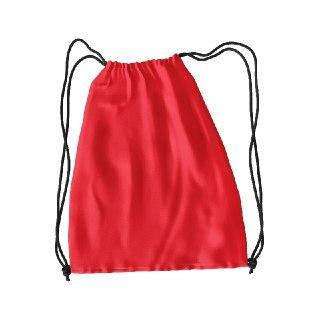 Рюкзак для змінного взуття під колір ЧЕРВОНИЙ друк