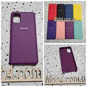 Брендовий чохол накладка Silicone Cover для Samsung (Самсунг) А31
