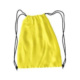 Рюкзак для змінного взуття під друк колір ЖОВТИЙ