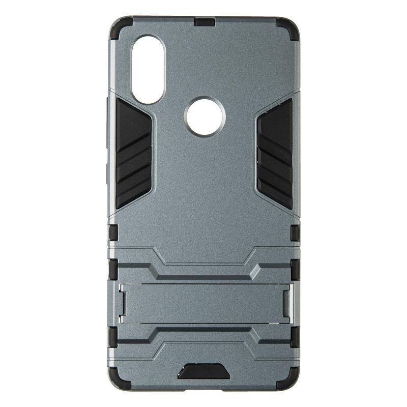 Чехол противоударный Hard Defence для Samsung Galaxy J4 Plus J415 Space Gray