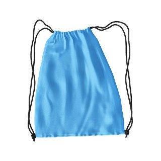 Рюкзак для змінного взуття під друк колір БЛАКИТНИЙ