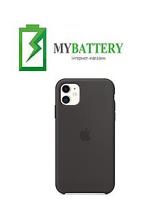 Чехол Silicone Case original (чехол-бампер) iPhone 11 кофе (22)