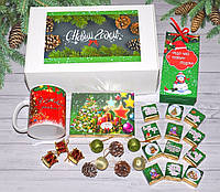 """Новогодняя коробочка с подарками """"С Новым Годом"""", фото 1"""