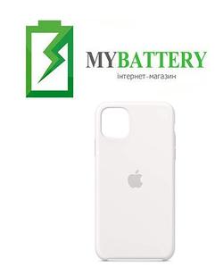 Чехол Silicone Case original (чехол-бампер) iPhone 11 Белый (9)