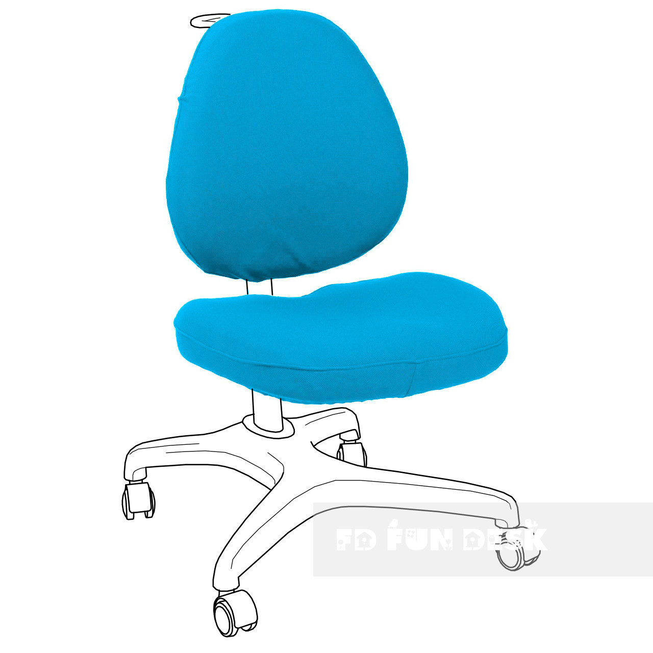 Чохол для крісла Bello I blue