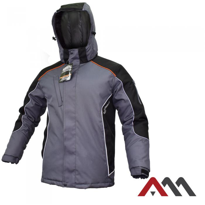 Утепленная защитная куртка Artmas PROFESSIONAL WIN Черный/Серый, M