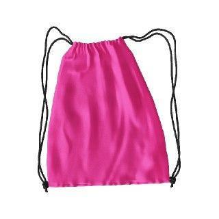 Рюкзак для змінного взуття під друк колір РОЖЕВИЙ