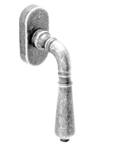 Оконная ручка  Fadex Antik 130D K хром матовый  (Италия)