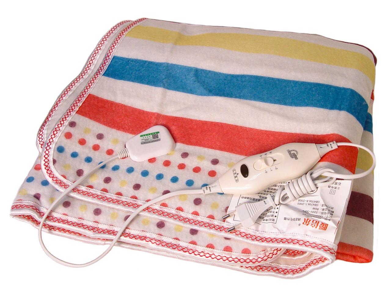 Электропростынь Electric blanket 5734 145 х 115 см Разноцветная (010186)