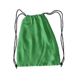 Рюкзак для змінного взуття під друк колір ЗЕЛЕНИЙ
