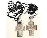 Хрест нательн. метал (зол. бронз.), фото 2