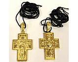 Хрест нательн. метал (зол. бронз.), фото 4