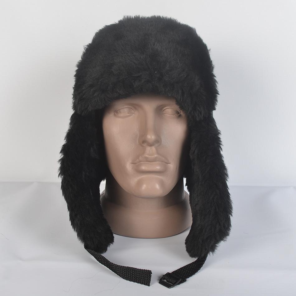 Чоловіча патріотична шапка- вушанка з штучного хутра мутона - Камала в  Хмельницком 11fb3a5a9993d