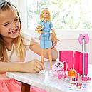 Barbie Travel Кукла Барби Путешественница FWV25, фото 6