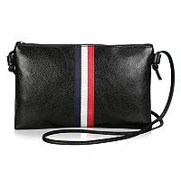 Маленькая сумочка на ремешке, черная сумка, мини сумка через плечо женская, FS-3707-10