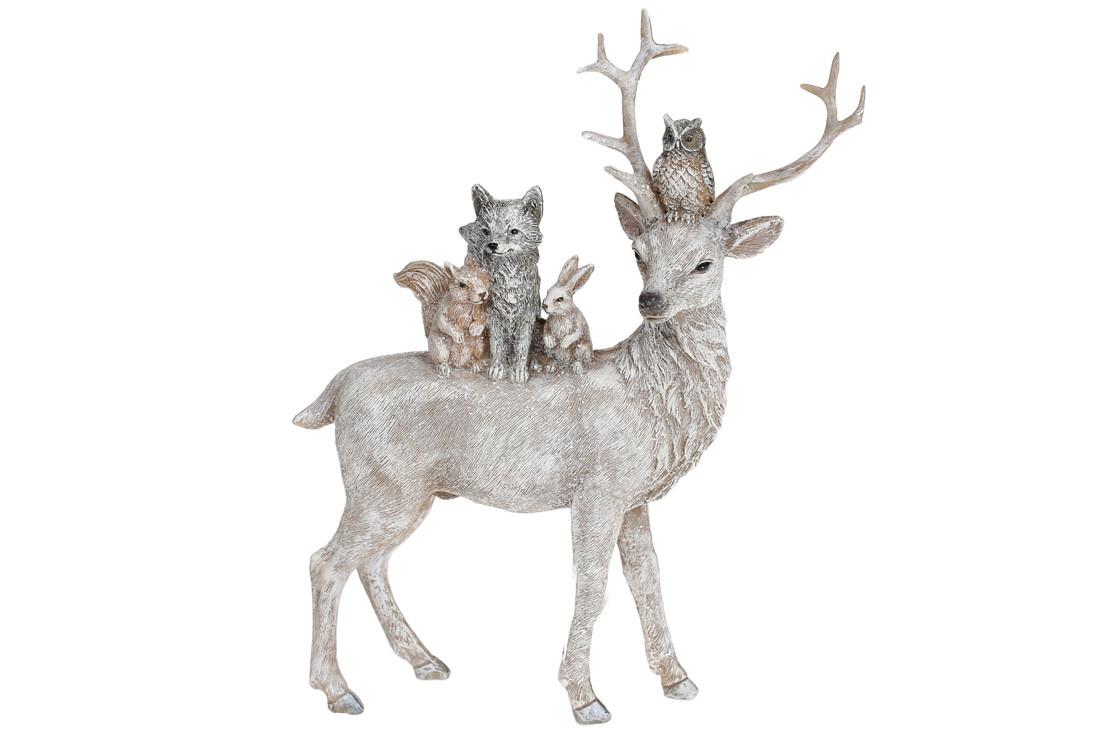 Декоративная статуэтка Лесные жители 24см (707-594)
