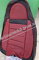 Автомобильные чехлы на ВАЗ 2108 2109 21099 2113 2114 2115 фирмы Пилот авточехлы на сидения красные