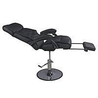 Кресло для педикюра с подставкой для ног + регулировка спинки+ гидравлический подъемник ZD-991