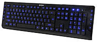 Клавиатура A4Tech KD-600L Led Black USB, КОД: 1901819