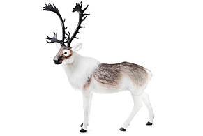 Декоративная фигура Северный олень с имитацией искусственного меха, 150*180см, 1шт. (800-110)