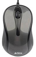 Мышь A4Tech N-360-1 grey USB V-Track, КОД: 1901989