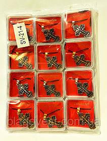 Крест нательный метал SV-21-4 набор 12 шт