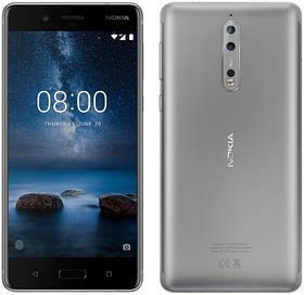 Смартфон Nokia 8 4\64Gb Silver (Global Version)