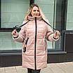 Пуховики зимние женские  модные  46-56 черный, фото 6