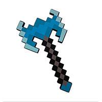 Пиксельный алмазный двойной топор Майнкрафт Minecraft Diamond Double Bladed Axe Mod