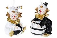 Декоративная подвесная фигурка Клоун 11.5см, 2 вида, в упаковке 6шт. (707-488)