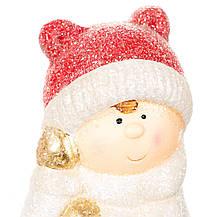 "Фигурка светящаяся ""Девочки лепят снеговика"" (017ND), фото 2"