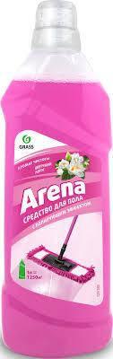 Средство для пола с полирующим эффектом ARENA цветущий лотос, 1 л., фото 2