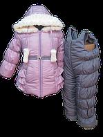 Нежный зимний костюм. 80, 86, 92, 98, 104