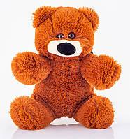 Маленькая игрушка медвежонок 45 см коричневый