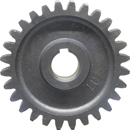 Шестерня промежуточная нижняя (под шпонку) Z28 зуб, D150 мм, d 32 мм 1GQN-125/140