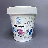 Скраб для тіла білий Elit-Lab 200 мл Тутті-Фрутті