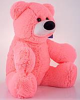 Маленькая игрушка медвежонок 45 см розовый