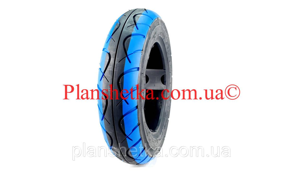 Покрышка на скутер 3.50-10 (TW) Boss синяя TL бескамерная, фото 3