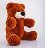 Плюшевый медведь 55 см коричневый