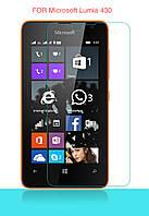 Защитное стекло для Microsoft (Nokia) Lumia 430 - HPG Tempered glass 0.3 mm